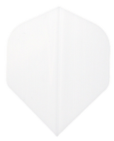TDZ Hard Poly Flights - Standard - White