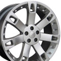 "22"" Fits Land or Range Rover Overfinch Wheels Hyper Silver Set of 4 22x9.5"" Rims"