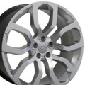 "22"" Fits Land Rover Range Rover Wheels Hyper Silver Set of 4 22x10"" Rims"