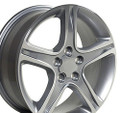 "17"" Fits Lexus IS Toyota Camry Wheels Rims Silver 17x7"