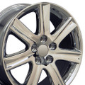 "17"" Fits Lexus ES 350 Wheels Rims Chrome Set of 4 17x7 Hollander 74190"