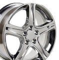 "17""' Fits Lexus IS Toyota Camry Wheels Rims Chrome Set of 4 17x7"