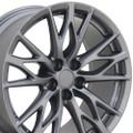 "19""  Fits Lexus IS-F Wheels Rims Gunmetal Set of 4 19x8"