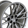 """19"""" Fits Lexus  IS-F Wheels Rims Hyper Silver Set of 4 19x8"""