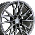 "19"" Fits Lexus IS-F Wheels Rims Hyper Silver 19x9 Rim"