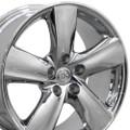 "18"" Fits Lexus LS460 Toyota Wheels Chrome Set of 4 18x8 Rims"