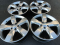 "20"" Fits Jeep Grand Cherokee Overland Summit Edit. 9107 Wheel Hyper Silver Set of 4 20x8"""