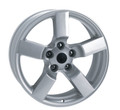 "18"" Ford Lightning Wheels Tires F150 SVT Style Silver Set of 4 18x9.5 Rims Hollander# 3420"