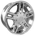 "20"" Fits Ford® F150 Harley 5 Lug Wheels Chrome Set of 4 20x9 Hollander 3410"