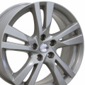 "18"" Nissan Altima Wheel Hyper Silver Set of 4 18x7.5"" Rims"
