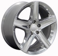 "20"" Fits Jeep New Grand Cherokee Wheel Polished 20x9 - Hollander 9062 9082"