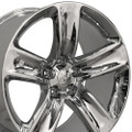 "20"" Fits Jeep Grand Cherokee Wheel Chrome 20x10"" Rim"