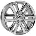 "22"" Fits Ford F150 Navigator Expedition Lincoln Wheels Chrome Set of 4 22x9"