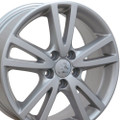 "17"" Fits VW Volkswagen Jetta Wheels Silver Set of 4 17x7 - Hollander 69582"