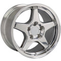 "17"" Fits Camaro Corvette ZR1 Wheel Polished 17x9.5"" Rim"