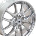 """20"""" Cadillac SRX Wheels Polished Set of 4 20x8"""" Rims"""