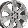 "20"" Cadillac SRX OEM Wheels Silver Set of 4 20x8"" Rims"