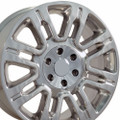 """20"""" Fits Ford F 150 Expedition Lincoln Navigator Wheels Rims Polished Set of 4 20x8.5"""" Rims Hollander 3788"""