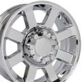 "20"" Fits Ford® F250-F350 Wheels Chrome Set of 4 20x8 Hollander 3693 Rims"