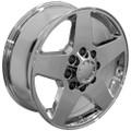"20"" Fits Chevrolet Silverado GMC Wheel Chrome Set of 4 20x8.5"" Rims"