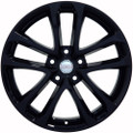 "18"" Nissan Altima Maxima Wheel Rim Gloss Black Set of 4 18x7.5"" Hollander 62521"