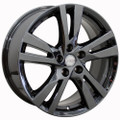 "18"" Nissan Altima Wheel PVD Black Chrome Set of 4 18x7.5"" Rims"