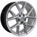 "19"" Nissan Maxima Wheel Hyper Silver Set of 4 19x8"" Rims"