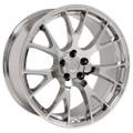 "Hellcat Style 22"" Wheels Chrome Dodge Ram Dakota Durango Chrysler 22x10"" Rims"