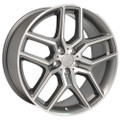 "20"" Fits Ford Explorer Wheels Gunmetal Machined Face Set of 4 20x9"" Rims"