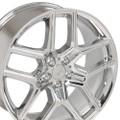 "20"" Fits Ford Explorer Wheels Chrome Face Set of 4 20x9"" Rims"