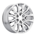 "20"" Fits Ford® F150 6 Lug Wheels Chrome Raptor Style Set of 4 20x9""  Rims"
