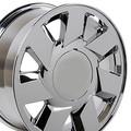 """17"""" Cadillac DTS Wheel Chrome 17x7.5"""" Hollander # 4553"""