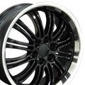 "22"" Fits Cadillac Escalade Chevy GMC Wheel Black 22x9"" Rim"