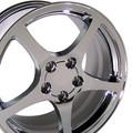 "18"" Fits Camaro Corvette C5 Wheel Chrome 18x9.5"" Rim Hollander 5122"