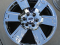 """20"""" Fits Ford Expedition -Factory OEM Ford Wheel - Chrome Clad 20x8.5 - Hollander 3659"""