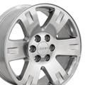 "20"" Fits GMC Yukon Chevrolet Cadillac Wheel Polished 20x8.5"" Rim"