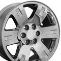 "20"" Fits GMC - Yukon Replica Wheels - Chrome 20x8.5"