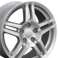 "17'' Fits Acura TL Wheels Silver Set of 4 17x8"" Rims Hollander 71762"