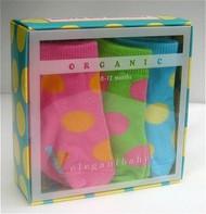 Dots So Bright Baby Socks