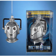 Doctor Who - Blown Glass Cyberman Christmas Ornament - Kurt Adler