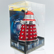 Doctor Who Red Glass Dalek Ornament