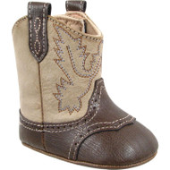 Baby Deer Cowboy Crawling Boots Sizes 2 and 3