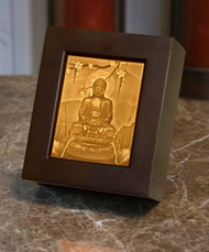 Lithophane Porcelain Shadow Box - Buddah