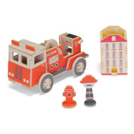 Play-Deco Work Vehicles: Fire Truck Tape Dispenser