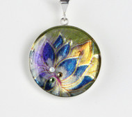 Asian Paper Pendant by Ann Carol Designs
