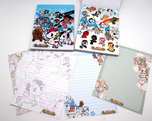 tokidoki Tear out notepad pages