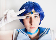 Sailor moon Cosplay Mercury Classic Tiara by Catzia