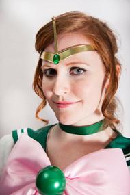 Sailor Moon cosplay Jupiter Thunder Rod Tiara by Catzia