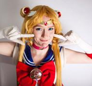 Sailor Moon PGSM Moon Tiara by Catzia