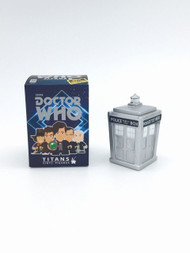 Convention Exclusive silver Tardis at Secret Studio Store